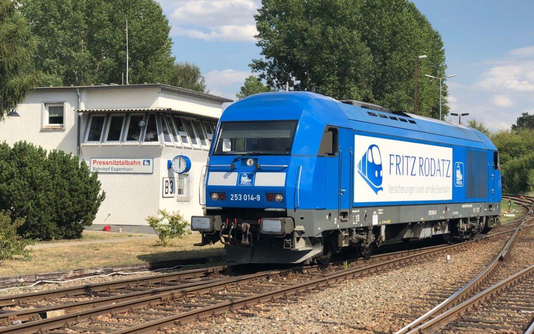 Werbe-Lokomotive FRITZ RODATZ